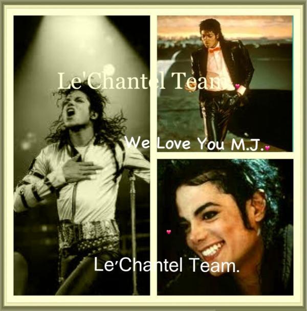 We Love You Michael.