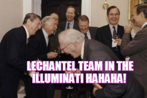 LeChantel Team in the illuminati