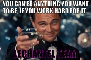You can be anything you want to be LCT