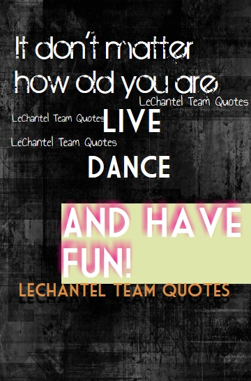 Live, dance, and have fun LCT2