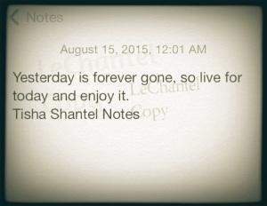 Tisha Shantel - Yesterday