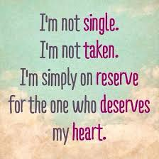 I'm Simply on Reserve QUOTE